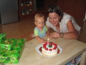 První narozeniny Matyáše Galla